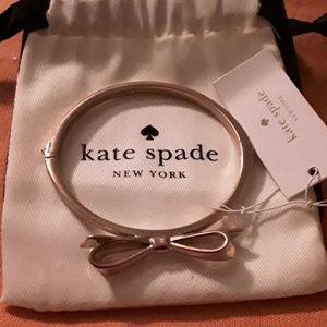 Kate Spade Rose Gold Love Notes Bangle Bracelet